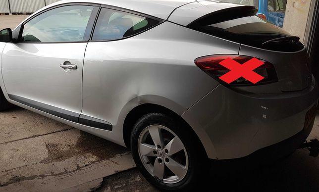 Крыло четверть дверь лонжерон ляда Задний бампер Renault Megane 3 Купе