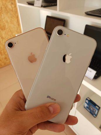 Apple iPhone 8 64GB Silver/Gold   BATERIA 100%