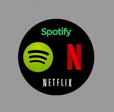 Spotify • Tidal • Xbox • Ipla TV • HBO GO • Netflix • Storytel