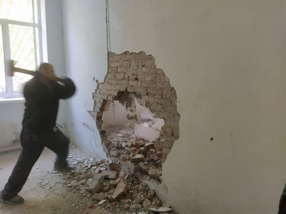 ДЕМОНТАЖные работы ДЕМОНТАЖ стен. ВЫВОЗ вещей и любого мусора Киев - изображение 1