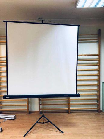Ekran projekcyjny na statywie składany PROJECTA