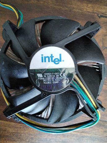 Cooler dissipador ventoinha em cobre CPU processador- Intel socket 775