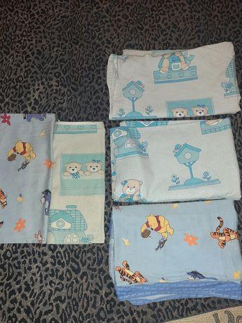 Детское постельное бельё(в подарок конвертик)для крошки