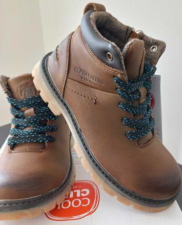 Buty chłopięce na zimę