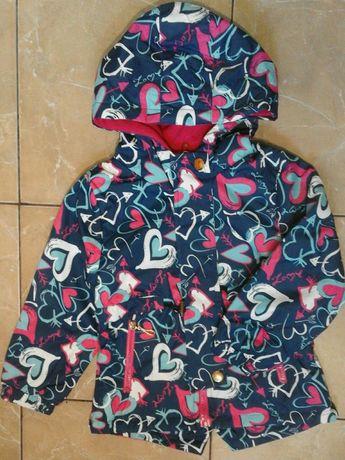 Демисезонная куртка-ветровка для девочки 98-104