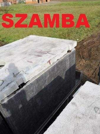 Szambo Betonowe 5000l gnojowice Betonowy Zbiornik Szybka dostawa