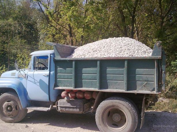 Песок щебень граншл гранотсев отвальный шлак жужелка ЗИЛ от 1 до 5 тон