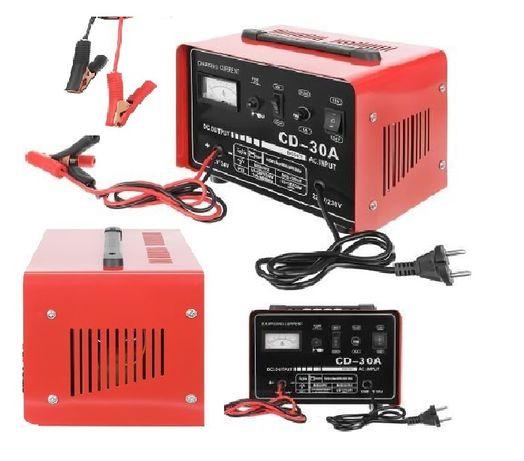PROSTOWNIK do akumulatora ŁADOWARKA 12V/24V 30A szybkie ładowanie