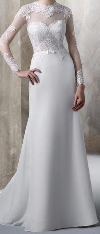Suknia ślubna Lusima Lubin - image 1