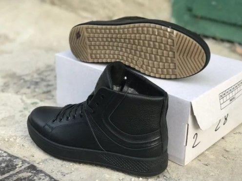 """Ботинки""""Alexander McQueen"""" мужские, зимние. 40-45 рр. Натуральная кожа"""
