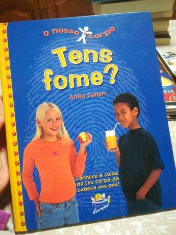 Livro infantil Tens fome?