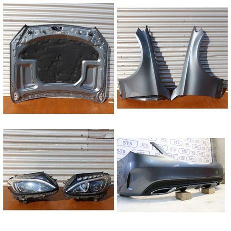 Mercedes-Benz C-klasse W205 Капот дверь бампер крышка багажника фары