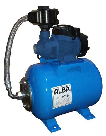 Насосная станция гидрофор ALBA QB60/24л Польша Медь для дома дачи воды