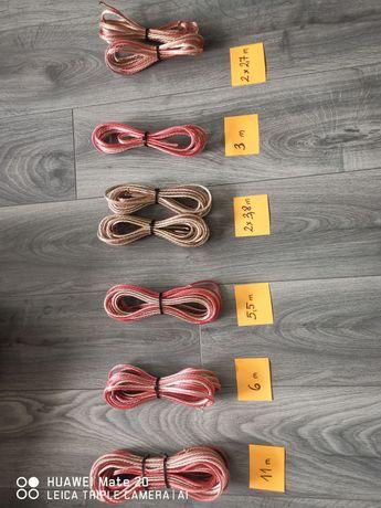Przewody kable głośniki