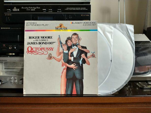 LaserDisc - James Bond 007 - Octopussy - NTSC