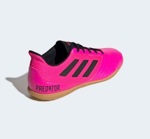 Nowe halówki adidas predator 19.4 różowe 40