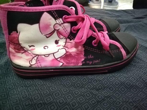 Trampki tenisówki dziewczęce Hello Kitty r. 30