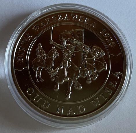 Moneta 100 lat Bitwy Warszawskiej 1920 roku
