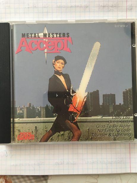 "Фирменный CD ACCEPT ""Metal Masters"" (1984, 1992)"