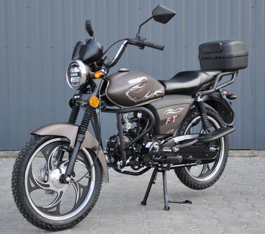 Мотоцикл мопед Мустанг Фіт 125 куб! Доставка до дому + 1л масла
