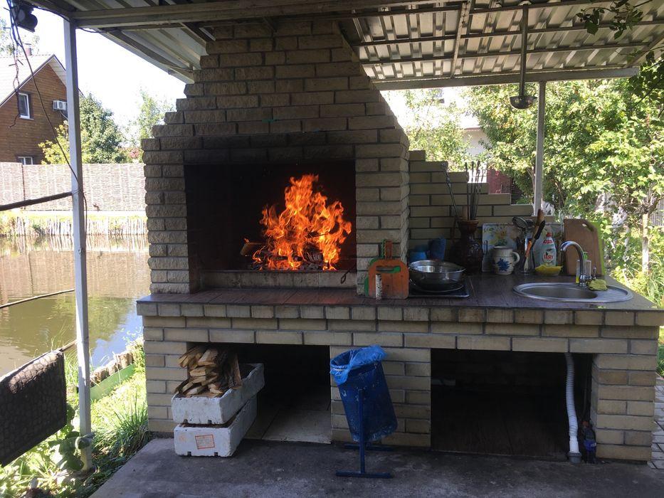 Аренда дома беседка посуточно почасово баней бильярдом мангалом озеро-1