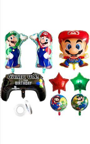 Balões para festa tema SUPER MARIO BROS