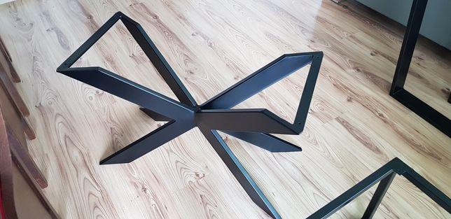 Nowe nogi do stolika loftowego, pająk
