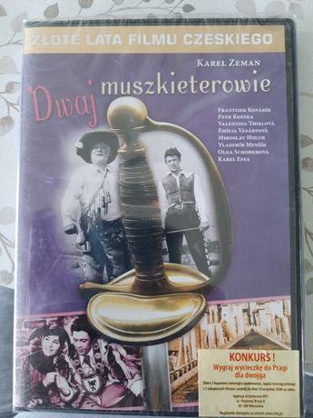 Dwaj muszkieterowie kino czeskie przygodowy DVD nowy kolekcjonerski