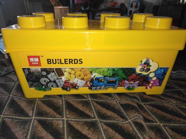 Конструктор Lepin 42001 Сер будів коробка аналог LegoClassic 10696