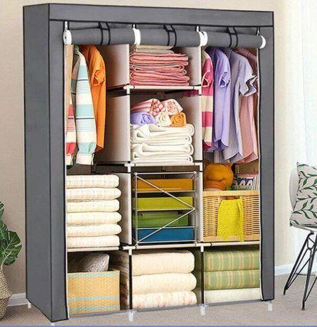 Складной каркасный тканевый шкаф Storage Wardrobe