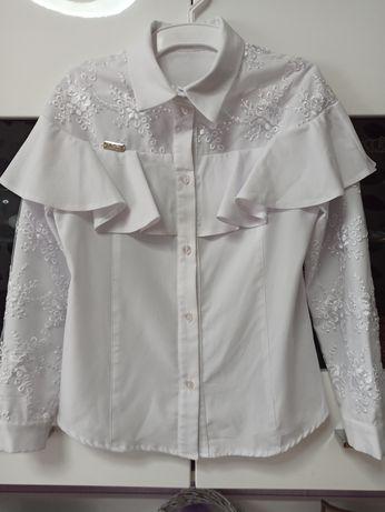 Блузка школьная блуза Брианна Suzie 134 размер для девочки 9 лет