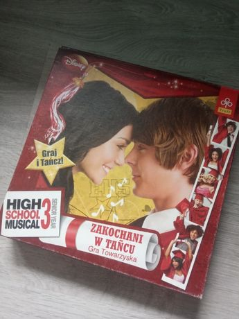 High School Musical 3 - Zakochani w tańcu - Gra planszowa