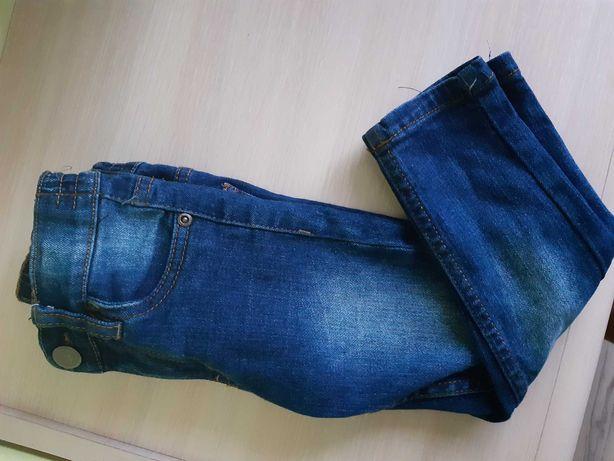 Jeansy dla chłopca.