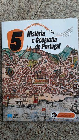 Livro História e Geografia de Portugal - 5º Ano