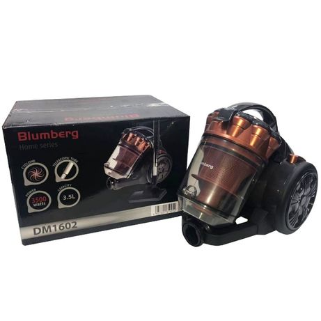 Колбовый пылесос Blumberg DM-1602 3500Вт HEPA-фильтр. Есть ОПТ/ДРОП