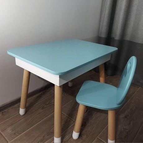 Детский столик и стульчик с пеналом