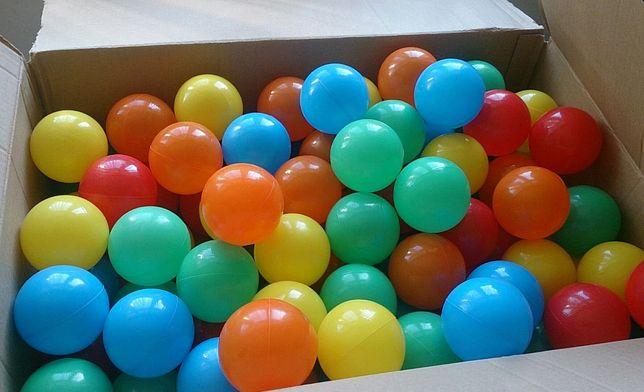 Zestaw 88 kolorowych kulek 7mm plastikowych do zabawy