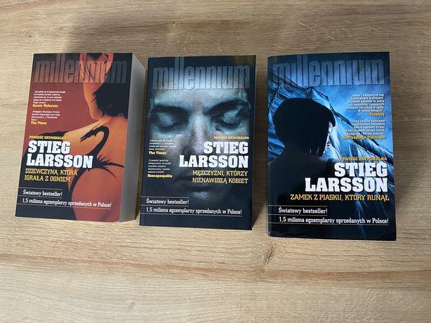 Ksiązki Stieg Larsson