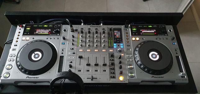 Pioneer DJM 750 + CDJ 850