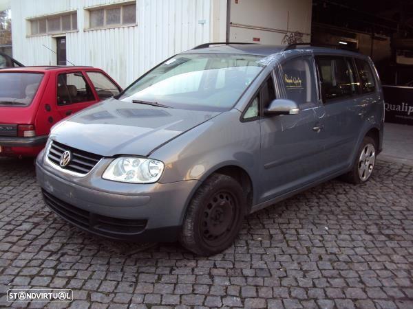 Barra Tejadilho Volkswagen Touran (1T1, 1T2)