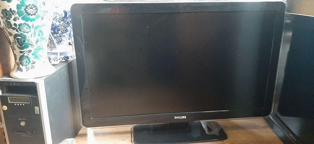 Telewizor LCD Philips 42 biały obraz