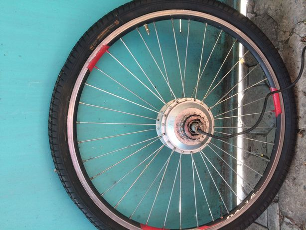 Электро колесо велосипедное