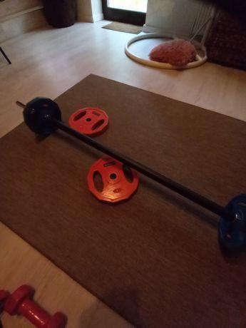 Sztanga body pump zestaw 15kg