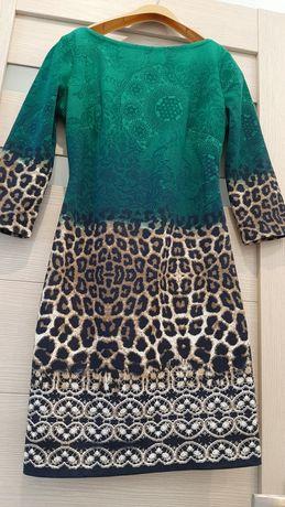 Красивое силуэтное платье