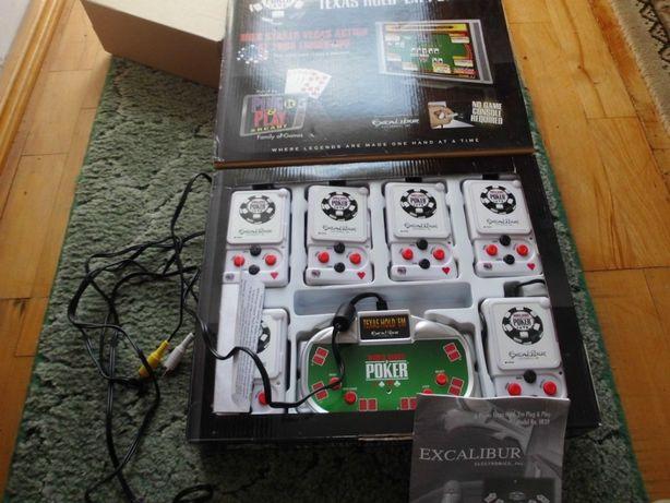 Sprzedam nowa grę video tv poker marki EXCALIBUR