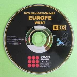 DVD / CD Toyota e Lexus - Atualização GPS / Navegação