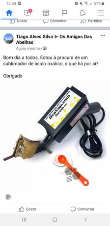 Sublimador de acido oxalico