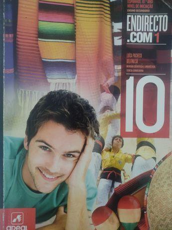 Endirecto livro de espanhol 10°ano