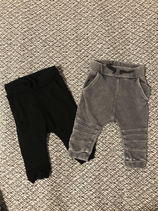 Spodnie dla chłopca hm 68 joggersy 2-pak Chynów - image 1
