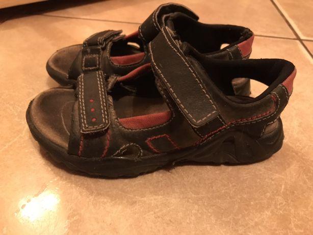 Кожаные сандали шкіряні сандалі